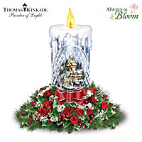 Thomas Kinkade All Is Bright Table Centerpiece