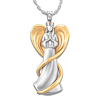 Love Of An Angel Diamond Pendant Necklace