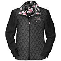Blossoms Of Hope Women\'s Jacket