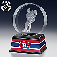 Montreal Canadiens® Laser-Etched Glass Sculpture