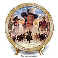 An American Hero: John Wayne Collector Plate