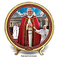 Pope Francis Easter Benediction Collector Plate
