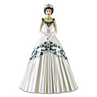 The Queen\'s Maple Leaf Of Canada Dress Figurine