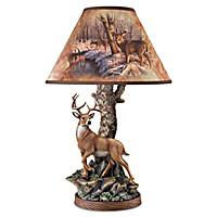Whitetail Majesty Lamp