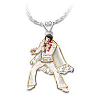 Hip Shakin\' Elvis Pendant Necklace