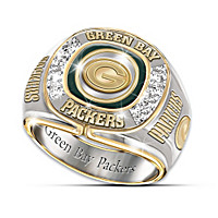 Green Bay Packers Diamond Ring