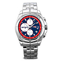 New England Patriots NFL Chronograph Men's Watch