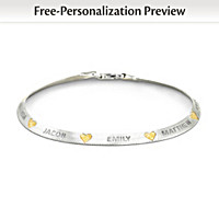 Family Blessings Personalized Bracelet