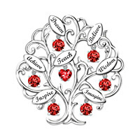 Tree Of Knowledge Brooch