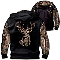 10-Point Buck Men\'s Hoodie