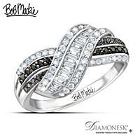 Bob Mackie Night And Day Diamonesk Ring