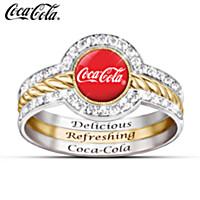 COCA-COLA Stacking Ring