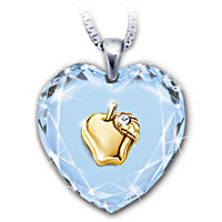 Heart Of A Teacher Pendant Necklace