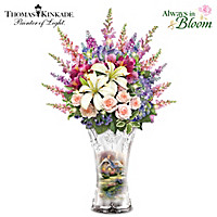 Thomas Kinkade Everett's Cottage Table Centerpiece