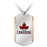 Molson Canadian Pendant Necklace