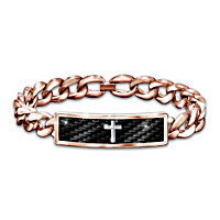 Power Of Faith Men's Diamond Bracelet
