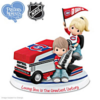 Loving You Is The Greatest Victory Canadiens® Figurine