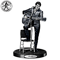 Elvis Presley \'68 Comeback Platinum Edition Sculpture