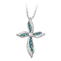 Heavenly Grace Diamond Pendant Necklace
