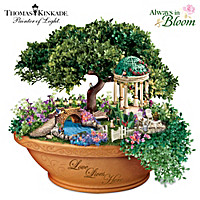 Thomas Kinkade Love Lives Here Table Centrepiece