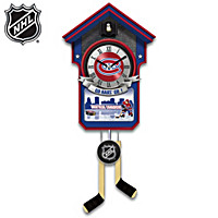 Montreal Canadiens® Cuckoo Clock