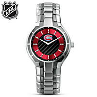 Montreal Canadiens® Carbon Fiber Men\'s Watch