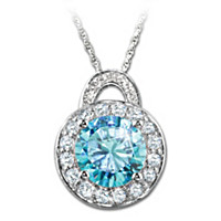 Queen Elizabeth II Pendant Necklace