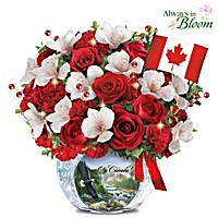 O Canada Table Centrepiece
