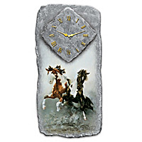Spirit Of The Wild Wall Clock