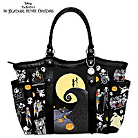 Disney Tim Burton\'s The Nightmare Before Christmas Tote Bag
