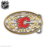 Calgary Flames® Belt Buckle