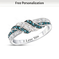 Embrace The Love Personalized Diamond Ring