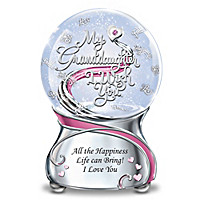 My Granddaughter, I Wish You Glitter Globe