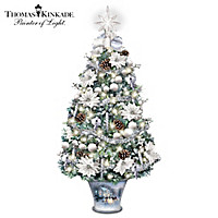 Thomas Kinkade Winter Splendour Tabletop Tree