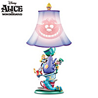 Disney Alice In Wonderland Mad Hatter\'s Tea Party Lamp