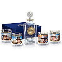 John Wayne: American Legend Decanter Set