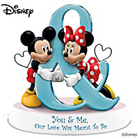 Disney You & Me, Our Love Was Meant To Be Figurine