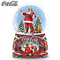 COCA-COLA Share The Joy Glitter Globe