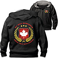 Canadian Veterans Men\'s Hoodie