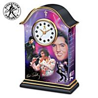 Elvis Mantel Clock