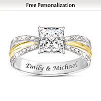 All Our Love Personalized Ring