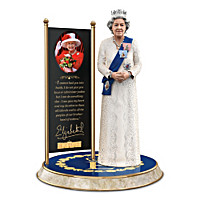 Queen Elizabeth II: The Longest Reigning Monarch Sculpture