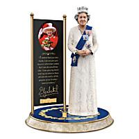 Queen Elizabeth II: The Longest Reigning Monarch Sculpture