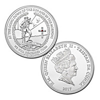 2017 Annual Remembrance Day Five Crowns Coin