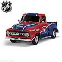 Montreal Canadiens® 1953 Ford F100 Truck Sculpture