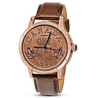 Replica 1936 Canadian Dot Penny Men\'s Watch