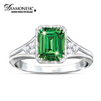 Beauty Of Helenite Ring