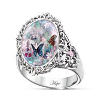 Lena Liu\'s Butterflies Of Hope Ring