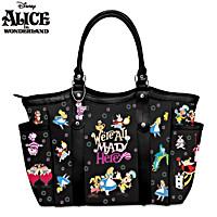 Disney We\'re All Mad Here Handbag