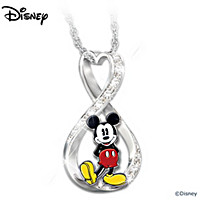 Disney Mickey Mouse Forever Pendant Necklace